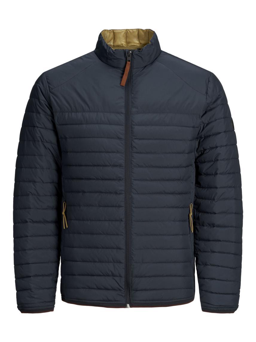 Düz Renk İnce Puffer Ceket