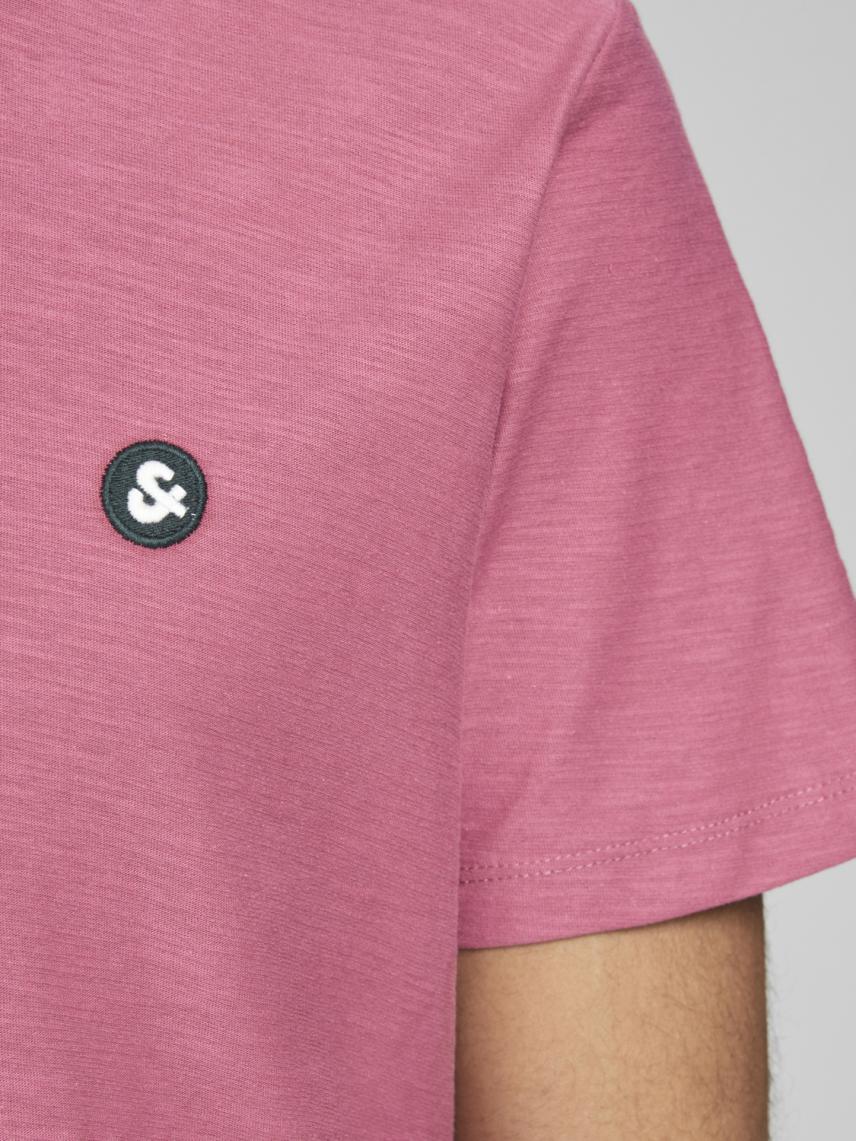Bisiklet Yaka Logolu Tişört