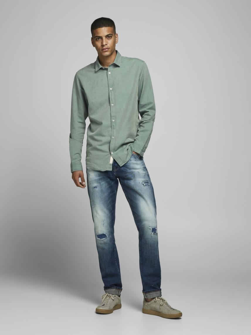 Slim Fit Klasik Gömlek