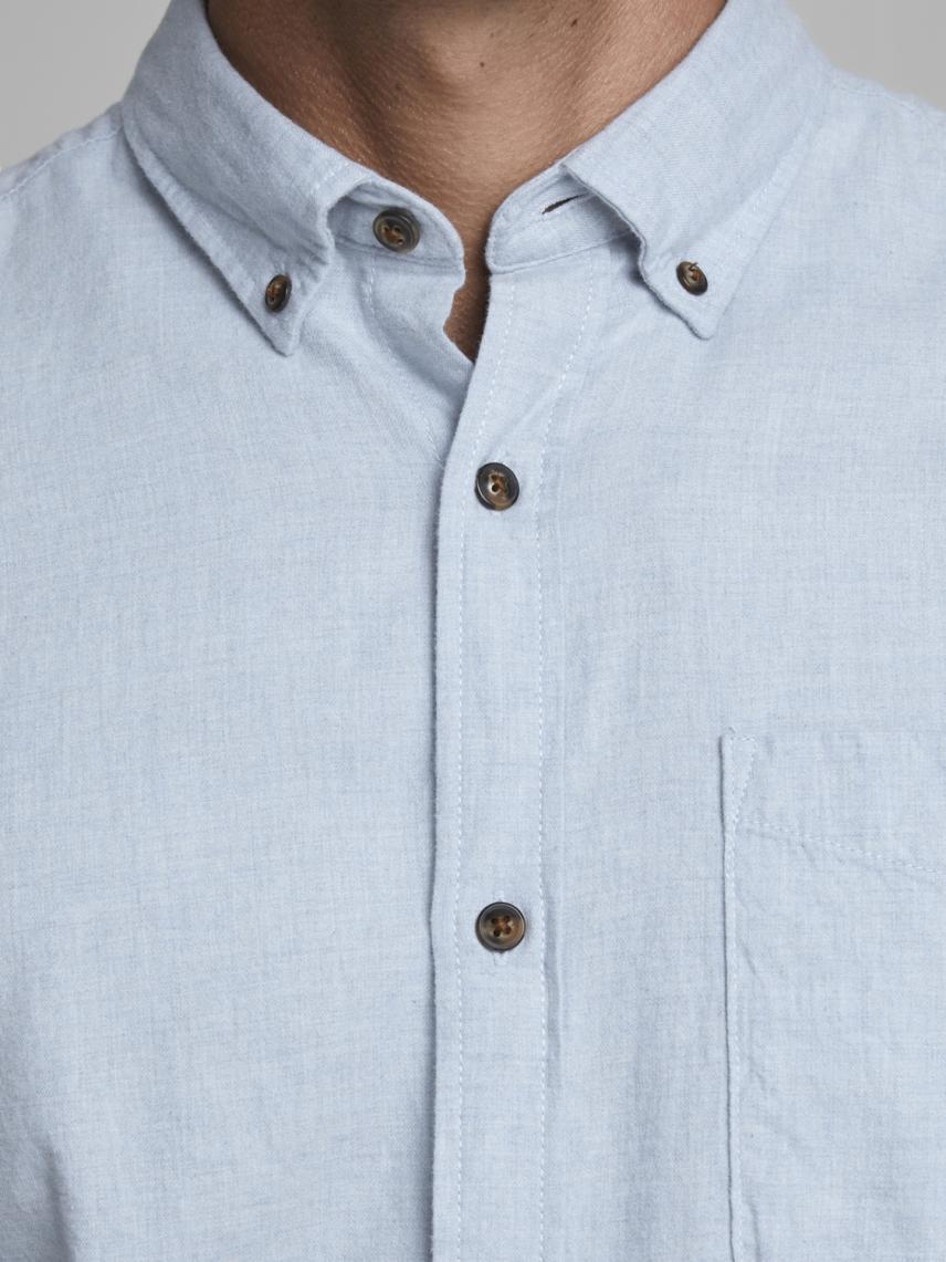 Düz Renk Klasik Gömlek