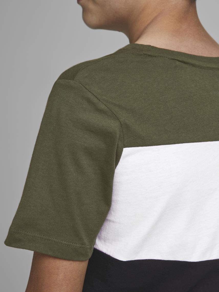 Blok Renkli Logolu Tişört