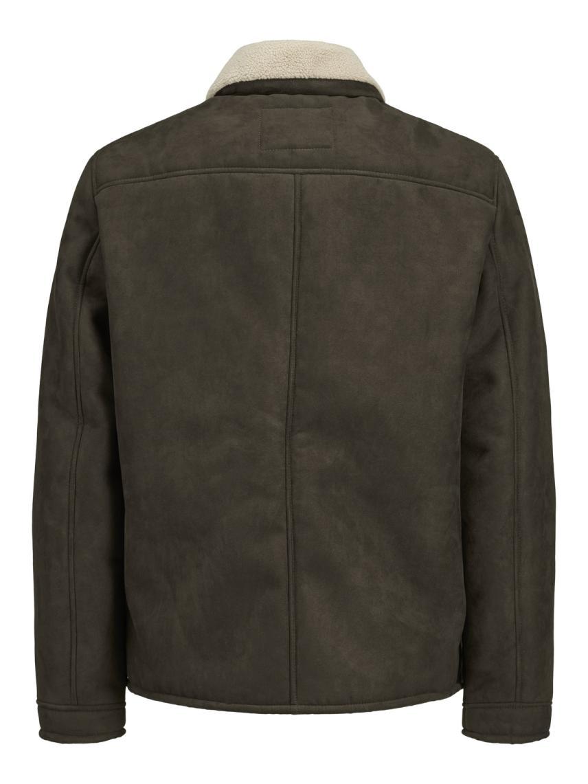 Peluş Yakalı Ceket