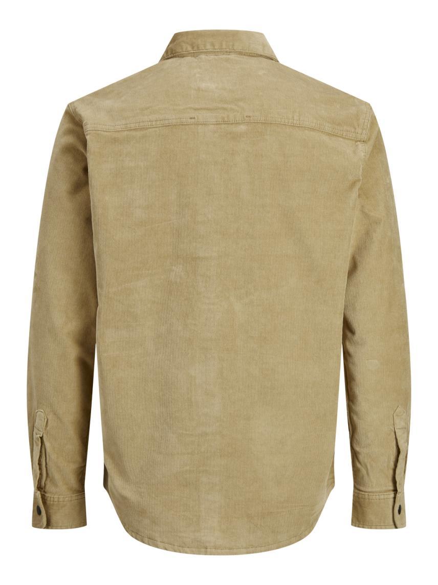 Uzun Kollu Kadife Gömlek