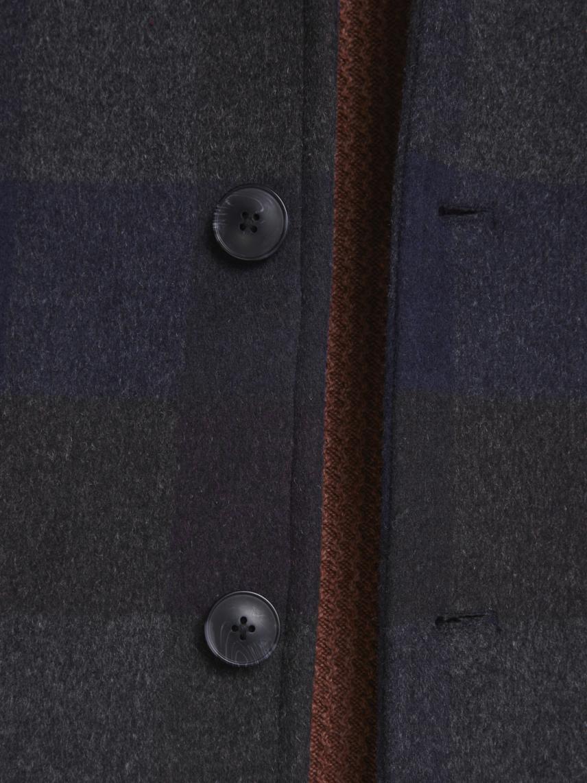 Yün Karışımlı Gömlek Ceket