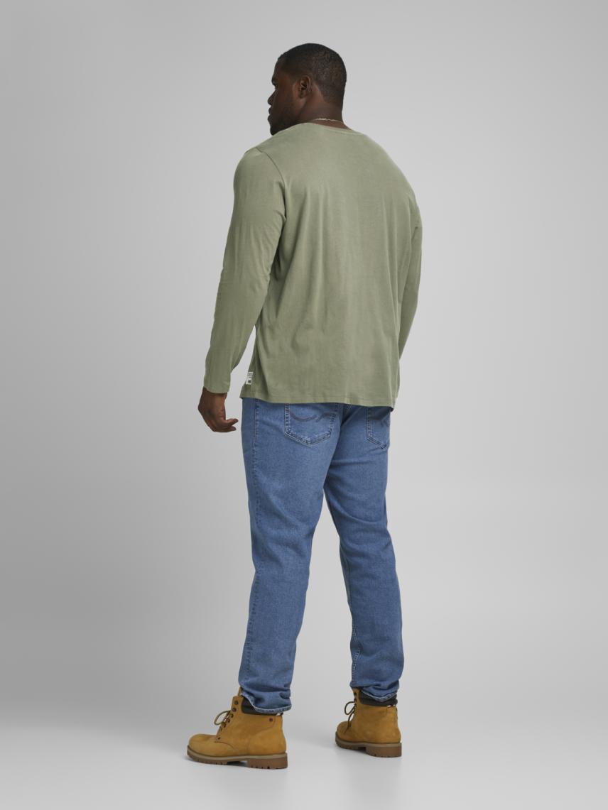 Uzun Kollu Logolu Tişört