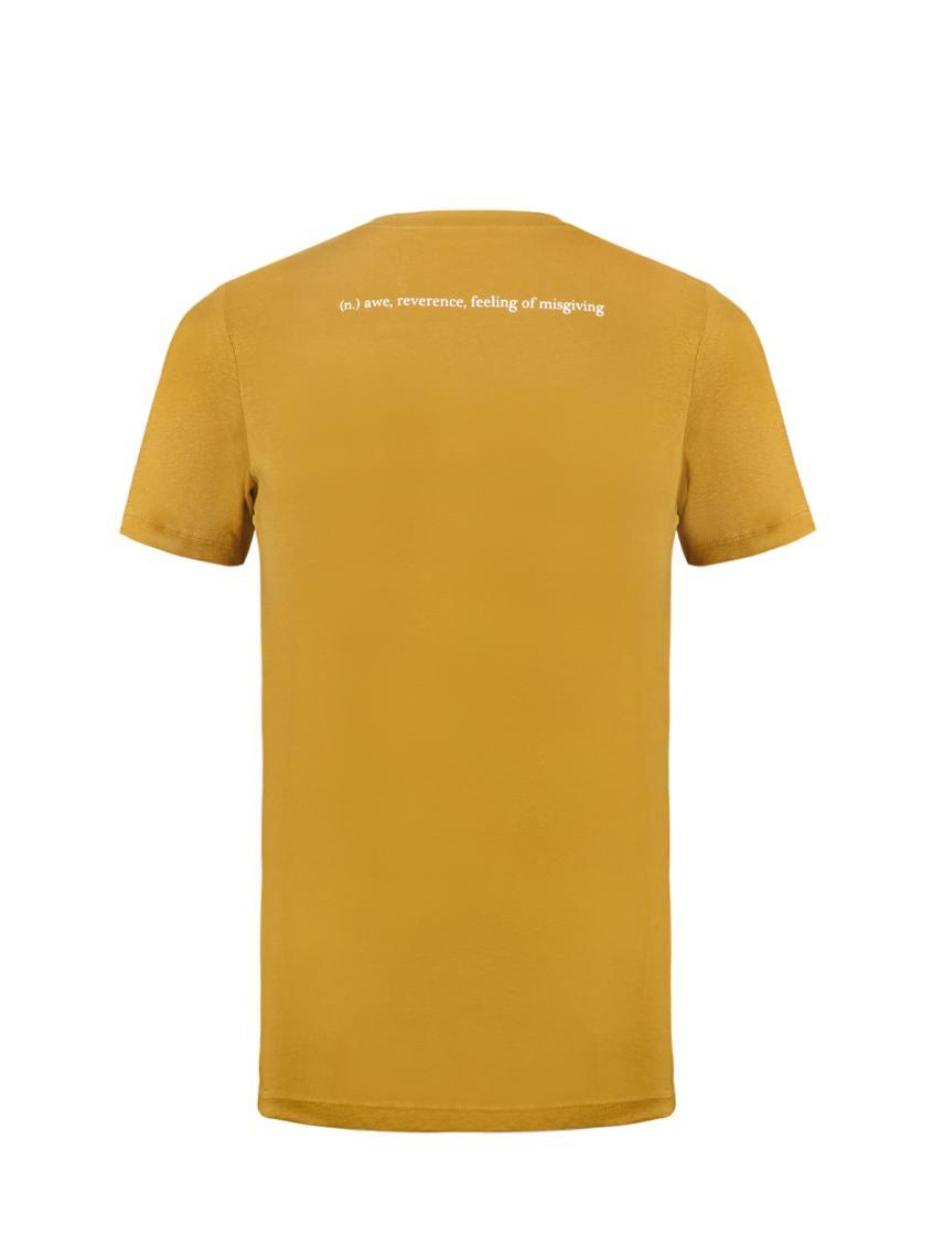 Bisiklet Yaka Baskılı Tişört