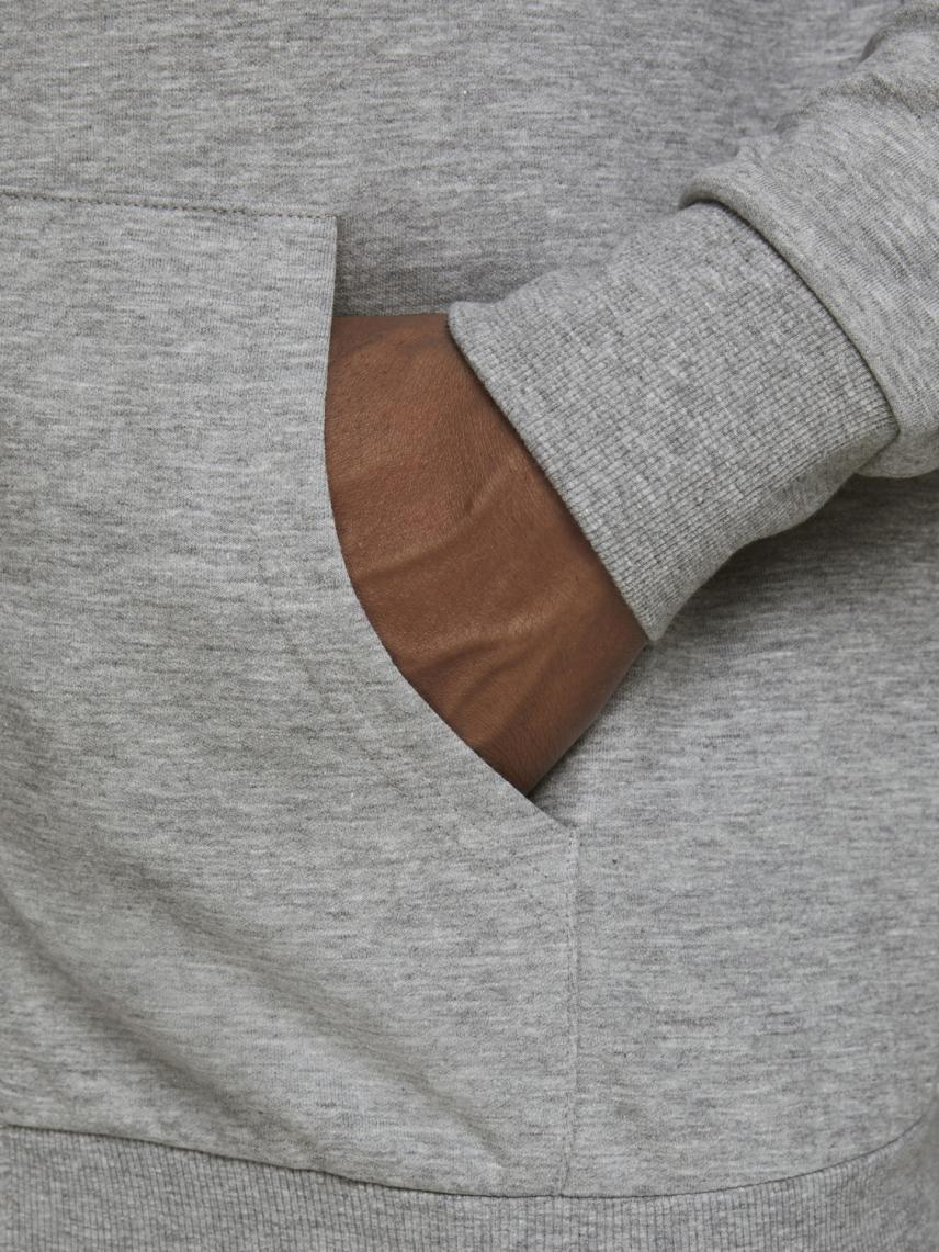 Kapüşonlu Fermuarlı Sweatshirt