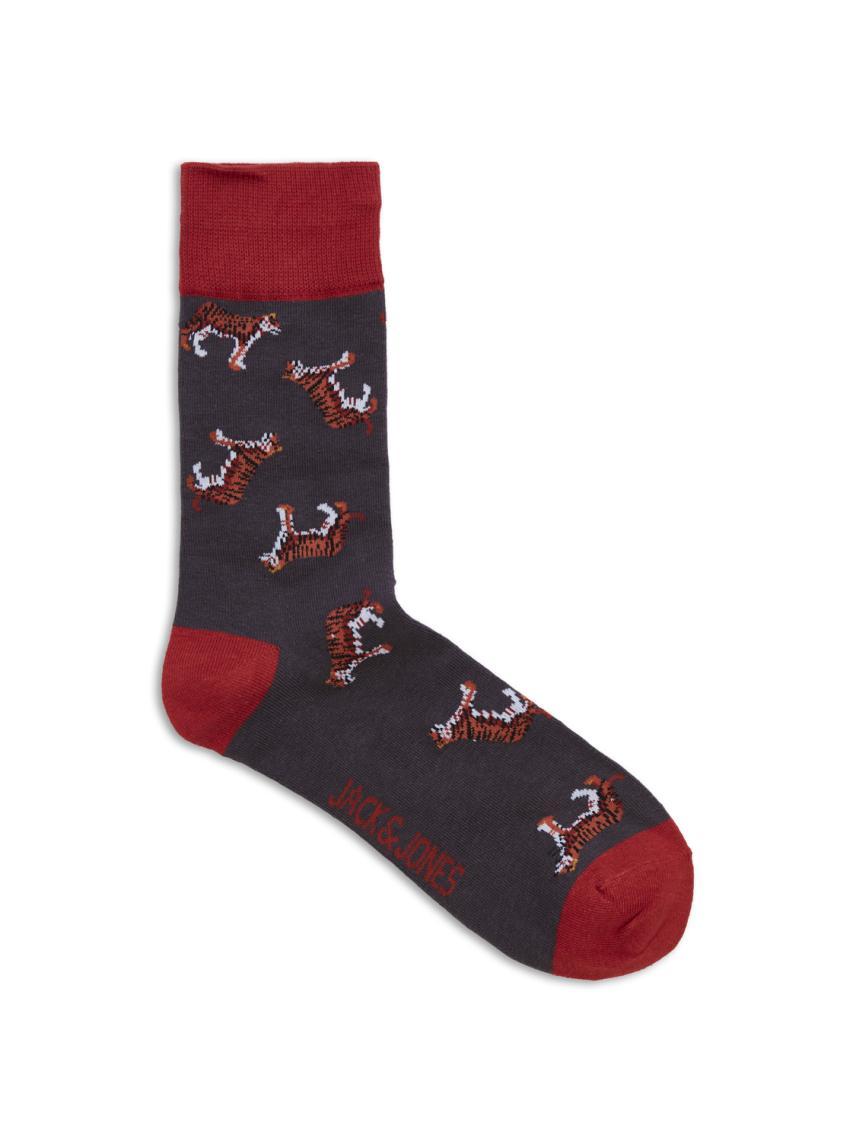 5'li Desenli Çorap Paketi