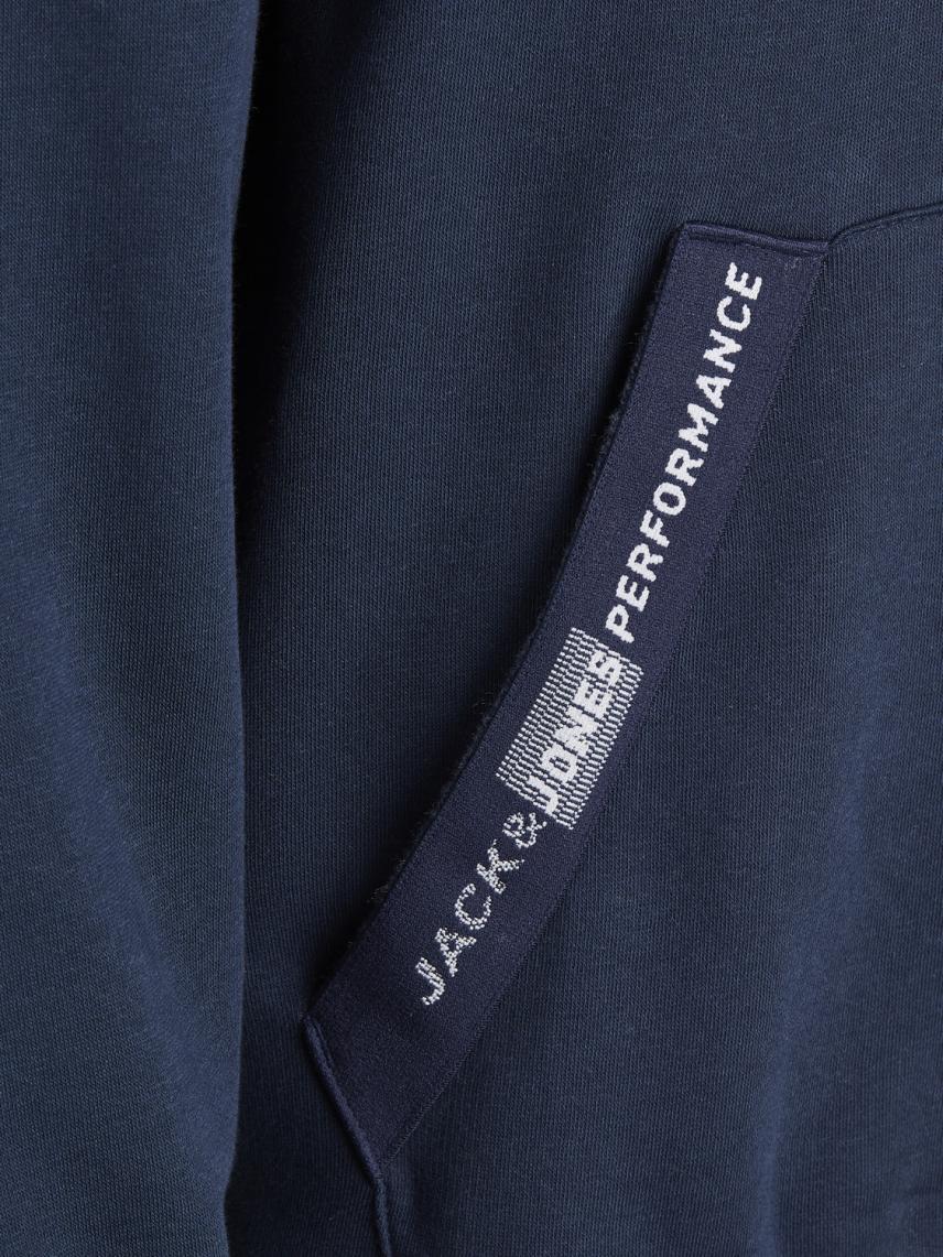 Kapüşonlu Yakası Detaylı Sweatshirt