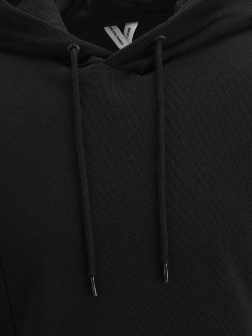 Düz Kesim Kapüşonlu Sweatshirt
