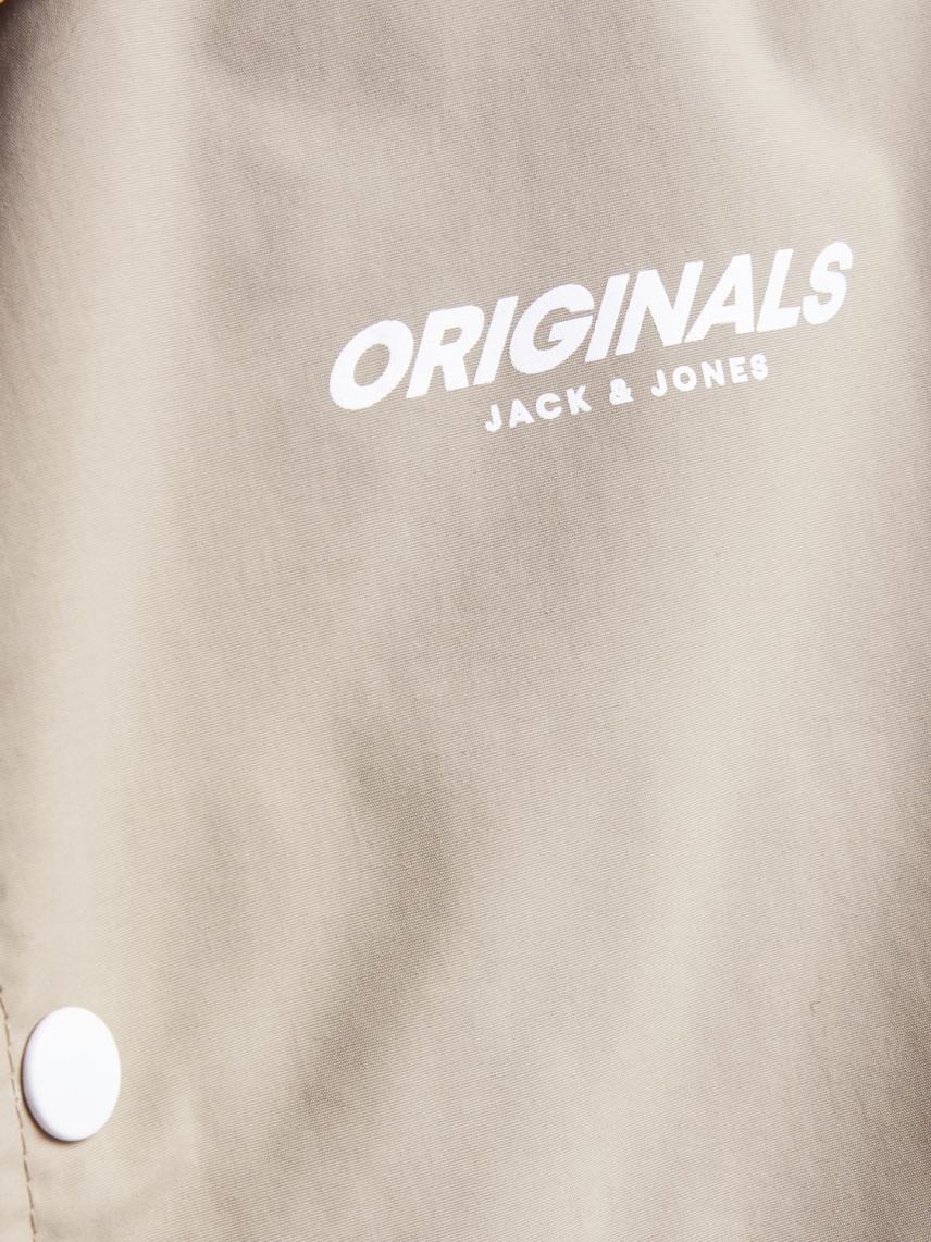 Logo Baskılı Beli Ayarlanabilir İpli Ceket