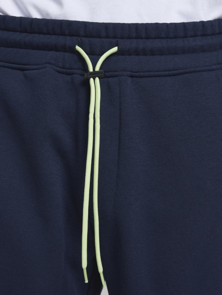 Şerit Detaylı Paçası Lastikli Sweat Pantolon