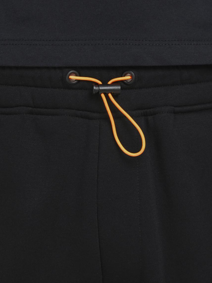 Beli Ayarlanabilir Düz Kesim Sweat Pantolon