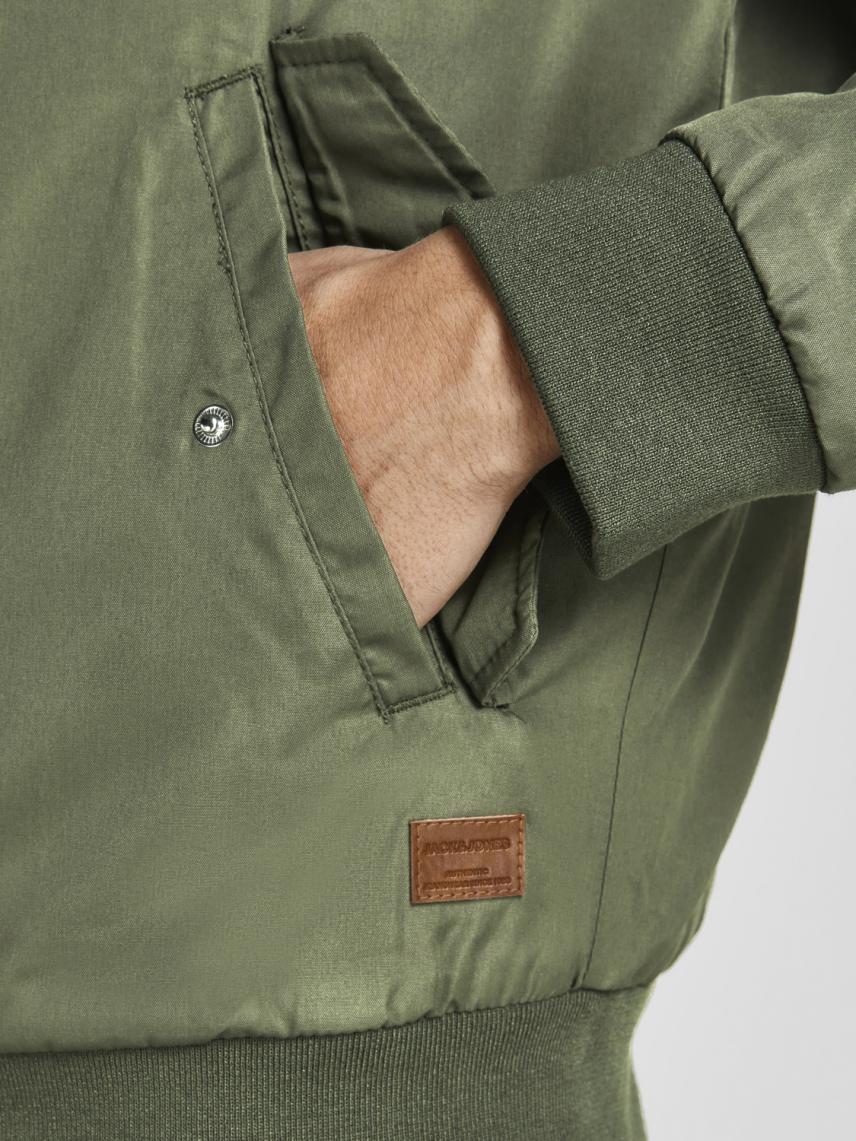 Kapüşonlu Bomber Ceket