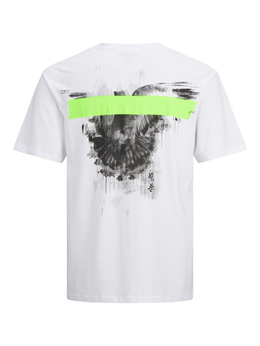 Sırt ve Göğüs Baskılı Tişört