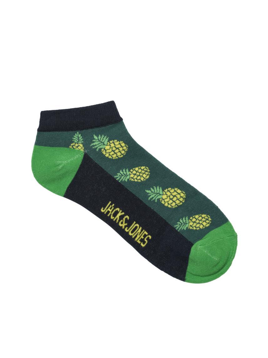 Renkli Desenli Spor Çorabı