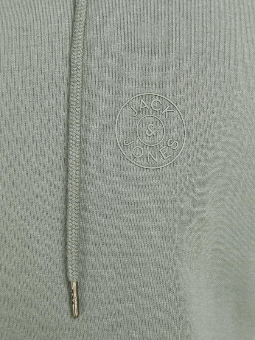 Kapüşonlu Logolu Sweatshirt