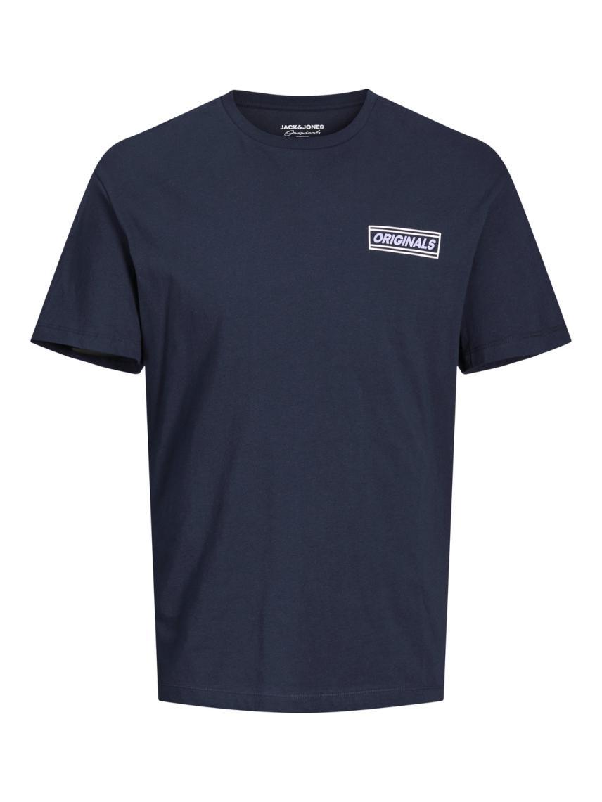 Rahat Kesim Sırtı Baskılı Tişört