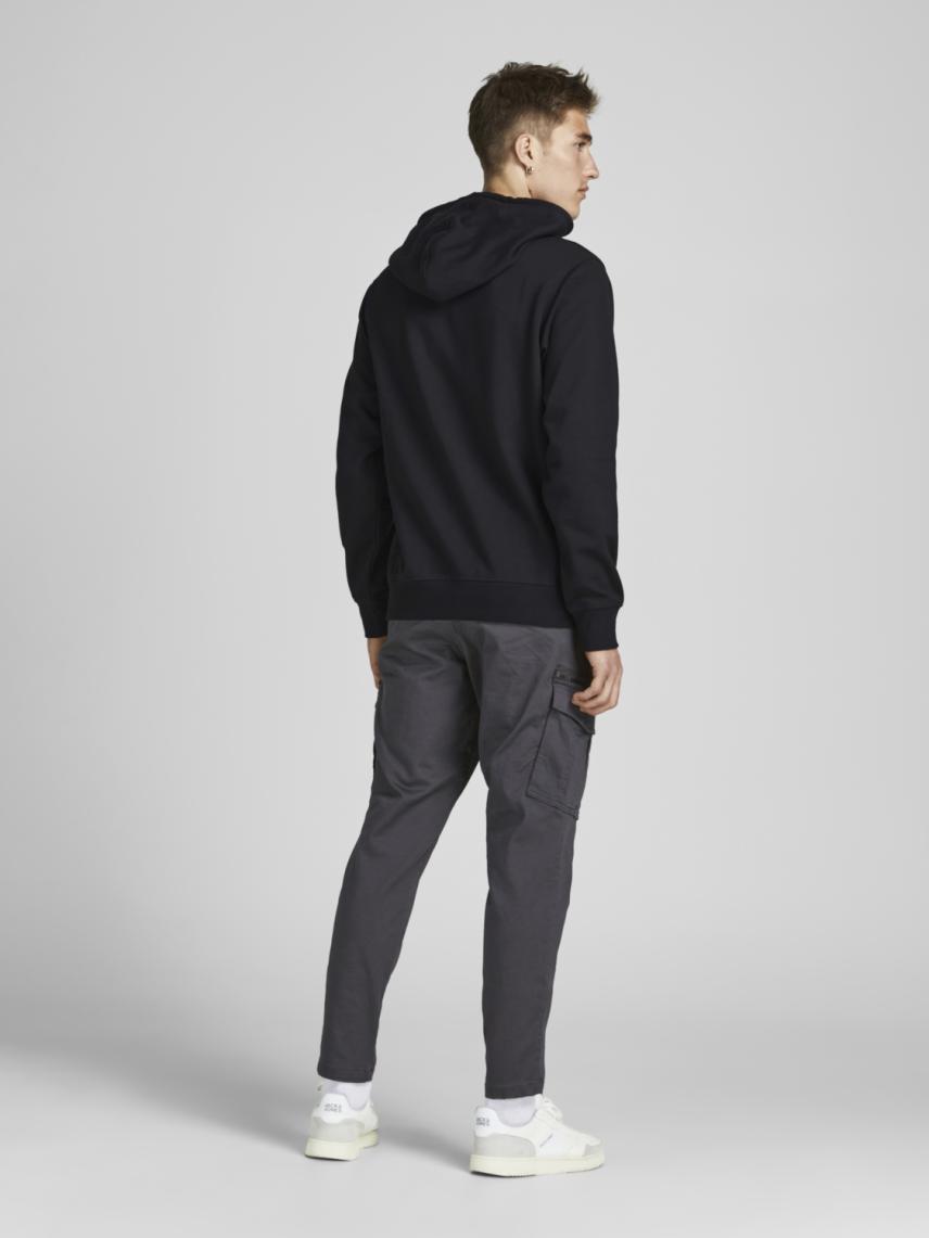 Kapüşonlu Baskılı Sweatshirt