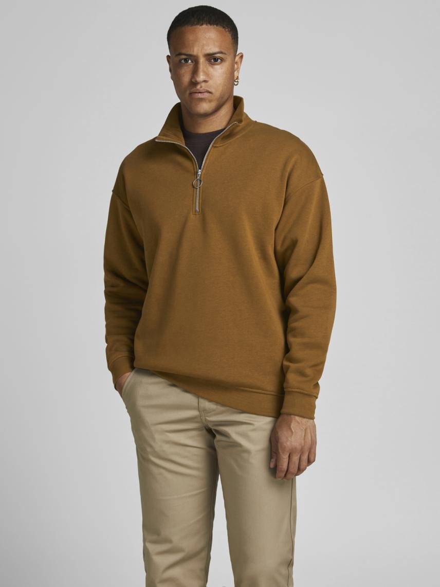Yarım Fermuarlı Sweatshirt